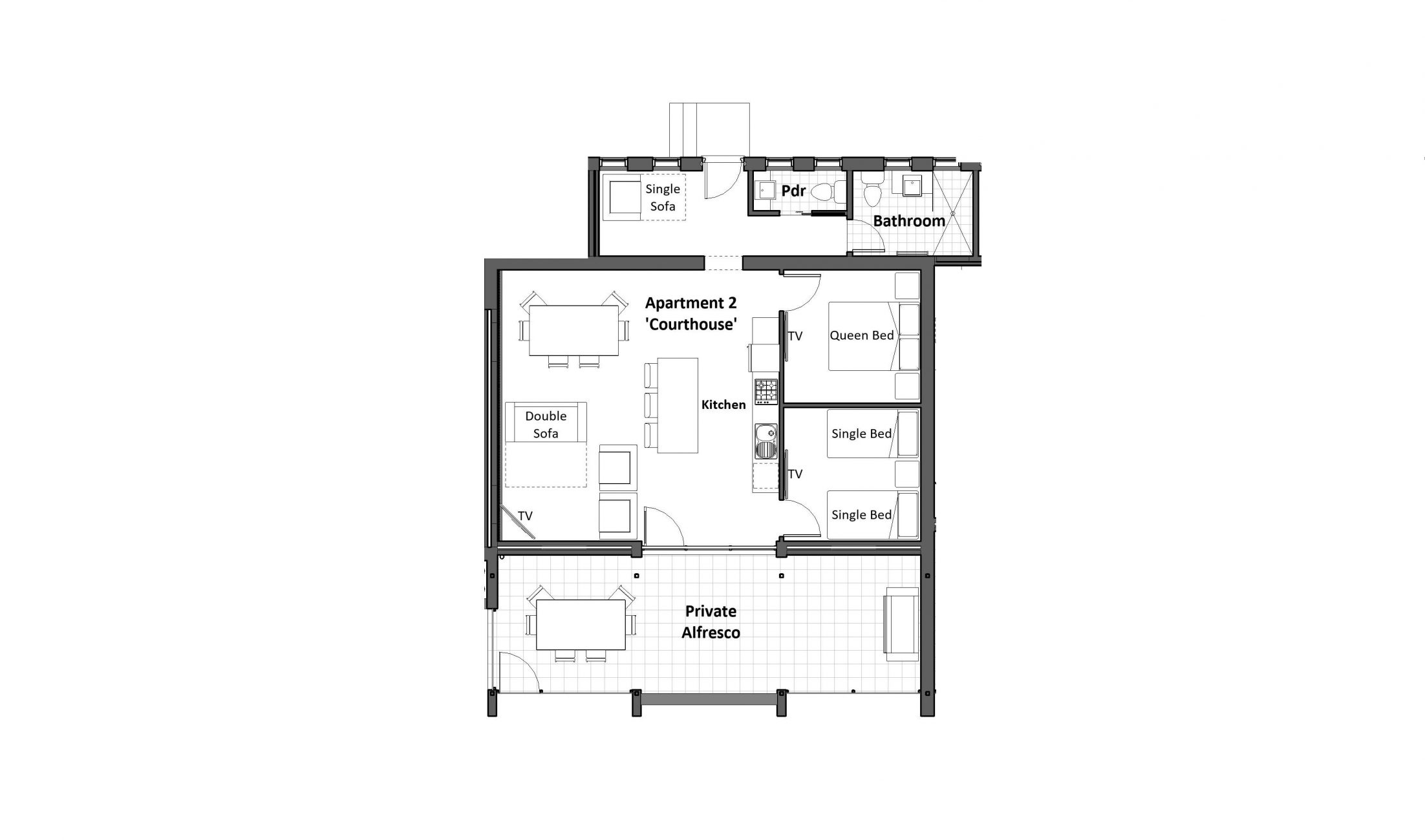 Courthouse - Floor Plan